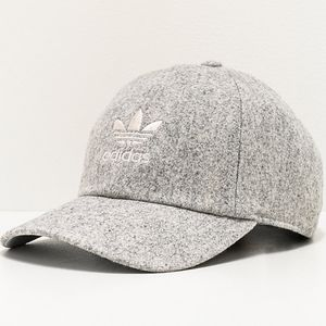 adidas Originals Relaxed Wool Light Grey Strapback